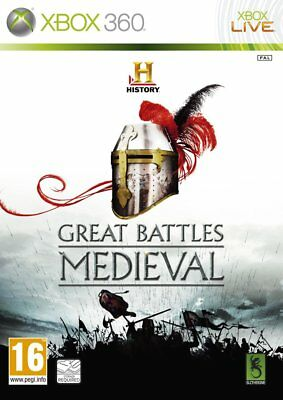 History Great Battles: Medieval Microsoft Xbox 360 PAL Brand New FACTORY SEALED