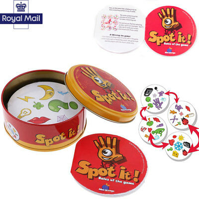 UK Spot it Kids Game Paper Dobble it for Family Game Cards Game High Quality