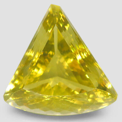 78.5ct.Jumbo! 100%Natural Top Lemon Quartz Unheated (Brazil) 31x30mm.AAA Nr!.