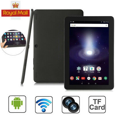 """UK 10.1"""" Inch Dual Camera Tablet PC Android 6.0 Quad-core Google 32GB Wifi GPS"""