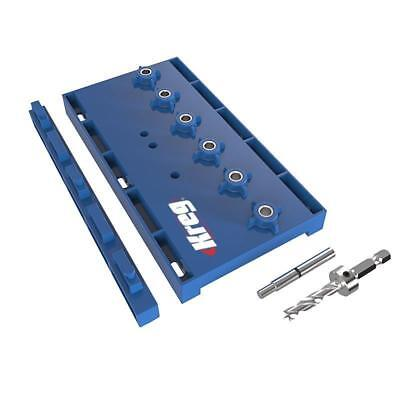 "Kreg 1/4"" Shelf Pin Jig Kit Shelving Woodworking Carpentry Tool KMA3200"