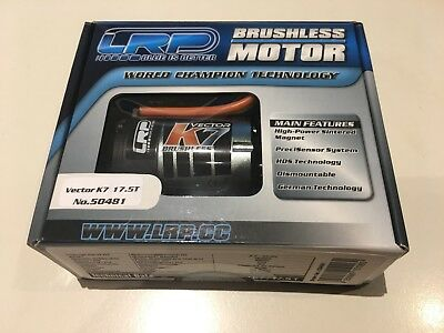 LRP Vector K7 Brushless Motor 17.5T #50481
