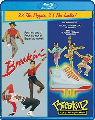 Breakin' + Breakin' 2 Electric Boogaloo Breakin Two New Region A Blu-ray