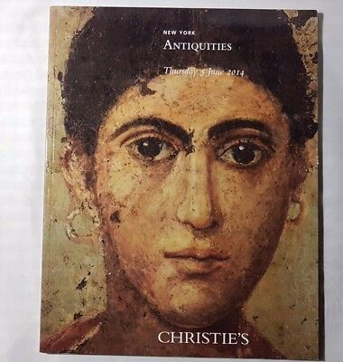 Christies Catalogue Antiquities Jun14 Greek Roman Egyptian + New York