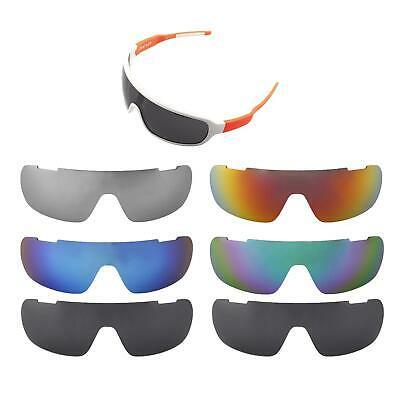 Walleva Replacement Lenses for POC Blade Sunglasses - Multiple Options