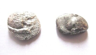 A lot of 2 x greek silver-coins from different mints