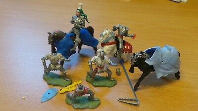 Britains Swoppet Knights Job Lot Spares/repairs