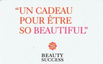 Carte Cadeau  Gift Card-  Beauty Success   (France)