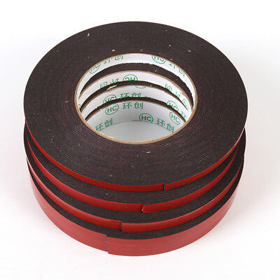 10M Strong Permanent Double-Sided Adhesive Glue Tape Super Sticky + Red LinCW