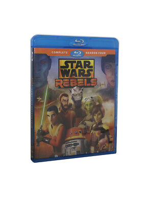 Star Wars Rebels Complete Season 4 (Blu Ray) USA SELLING SHIPPING TODAY NEW