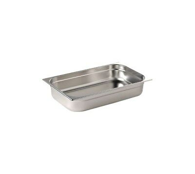 Gastronorm Pan 1/1 Full Size 65mm Deep - Stainless Steel