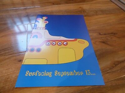 The Beatles - Yellow Submarine Full Colour Promo Pamphlet From 1999