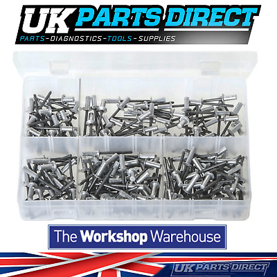 Assorted Box of Rivets - Sealed Type (Closed End) - 200 Pieces