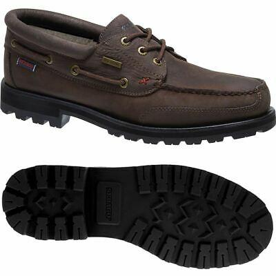 Sebago MOC Man VERSHIRE THREE EYE FGL WP Leisure Moccasin