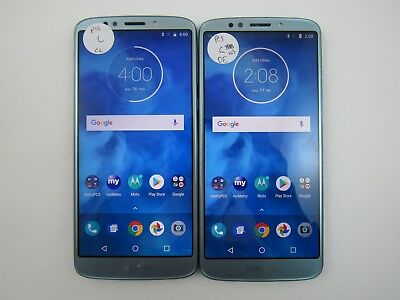 Lot of 2 Motorola E5 Plus XT1924-7 Metro PCS Check IMEI Fair Condition 5-880