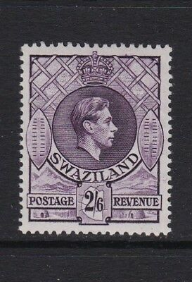 Swaziland SG36a 2s6d violet Perf 13 1/2 x 14 - lightly mounted mint £32