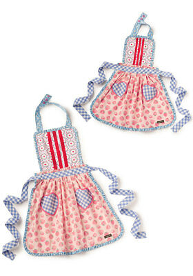 NWT Matilda Jane Mommy & Me Hearts & Crafts Apron Set One Size