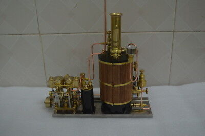 New Vertical boiler for Steam Engine Live Steam