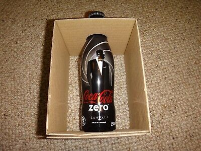 James Bond 007 Skyfall Aluminium  Coca Cola Bottle, Limited Edition In Box
