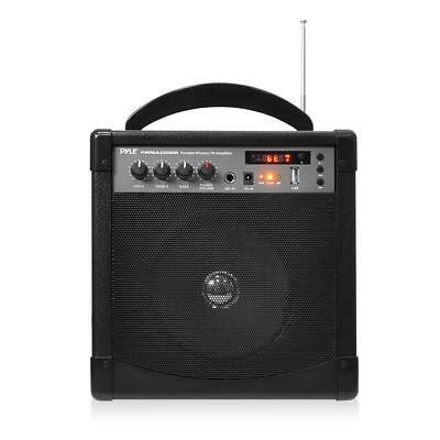 Portable Karaoke PA Speaker Amplifier & Microphone System, Bluetooth Wireless St