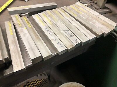 "3/4"" 0.75"" x 1.25"" x 10"" Long 304 SS Stainless Steel Flat Bar Plate"
