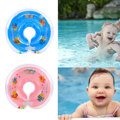 Baby BB Swimming Neck Float Inflatables Ring Adjustable Safety Aids  1-18 Month