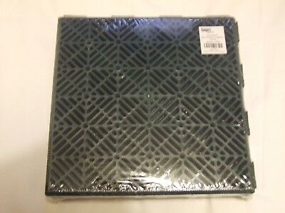 5 Pack of Interlocking Garden Tiles by COOPERS of Stortford Colour Green 29 x 29