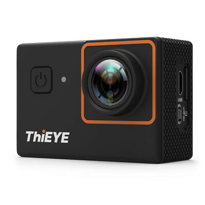 "ThiEYE i30+ 4K UHD 12MP WiFi 2"" LCD 170° Wide Angle Action Sports Camera DV Y2S1"