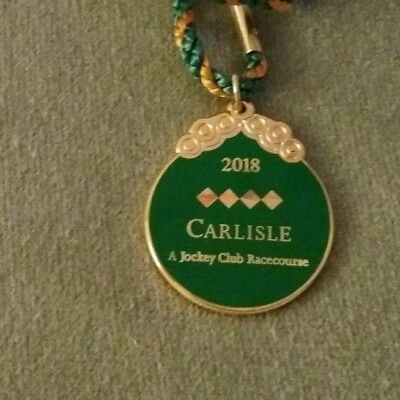 Annual Member's Badge ~ Carlisle Racecourse 2018