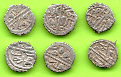 KOSOVO Ottoman Turkey Akce Sultan Bayezid II 1481-1512 Novar-Novo Lot 6 pc.336