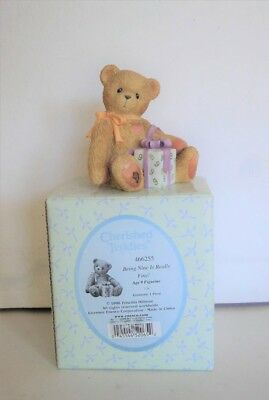 "Cherished Teddies Birthday 9 ""Being Nine Is Really Fine!"" in Box + 2018 CLOSOUT"