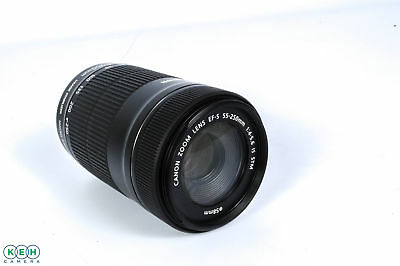 """Canon 55-250mm F/4-5.6 IS STM EF-S Mount Lens {58} """"AS IS"""""""