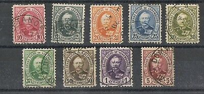 Luxembourg - 1891/95 Grand-Duc Adolphe I. Lot