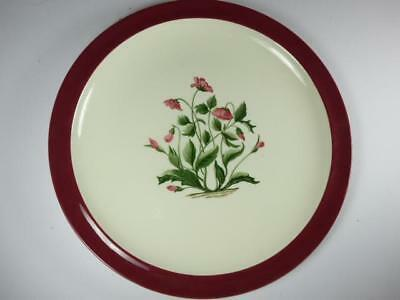 WEDGWOOD MAYFIELD RUBY DINNER PLATE,10in
