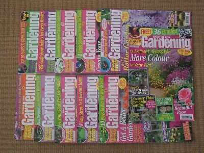 Gardening Magazine - Woman's Weekly Living Series - 11 Issues