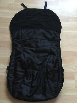 Tesco Baby Universal Black Footmuff Cosytoes