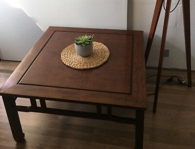 Beautiful Chinese solid Mahogany coffee table, excellent condition