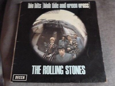 ROLLING STONES - HIGH TIDE AND GREEN GRASS - 1st PRESS LP