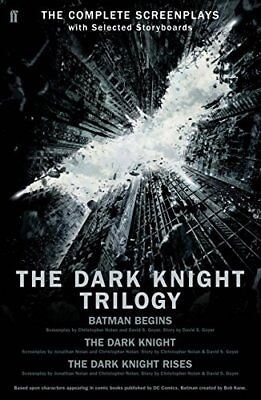 Dark Knight Rises Trilogy: The Complete Screenplays by Christopher Nolan