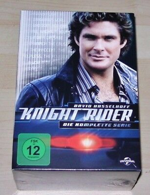 Knight Rider the Complete Series with David Hasselhoff DVD Faster Shipping New