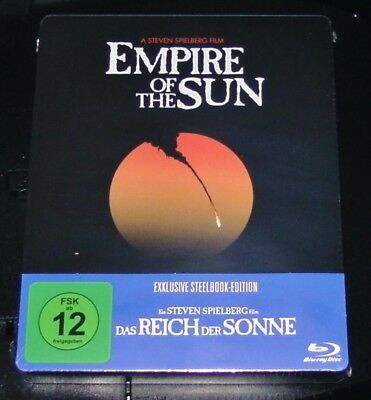 El Rico el Sol / Empire Of The Sun Limitada Steelbook Blu-Ray Nuevo y Emb. Orig.