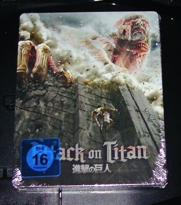 Attack On Titan Película 1 Limitada Steelbook Dition Blu-Ray Nuevo y Emb. Orig.