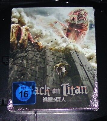 Attack On Titan Film 1 Limitata Steelbook Dition Blu-Ray