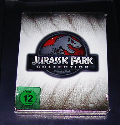 Jurassic Park Collection Limited Steelbook Edition Blu Ray New Original Package