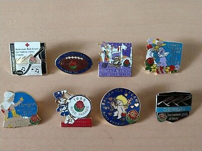 Tournament of Rose Parade Red Cross-Famers Insh - Oregon - United Airlines Pins
