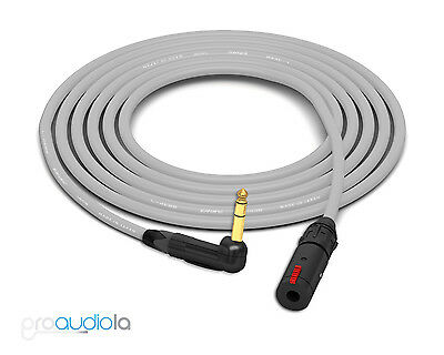 15/' Canare Quad Cable L-4E6SNeutrik Gold XLR-F XLR-MBlack 15 Feet 15 Ft