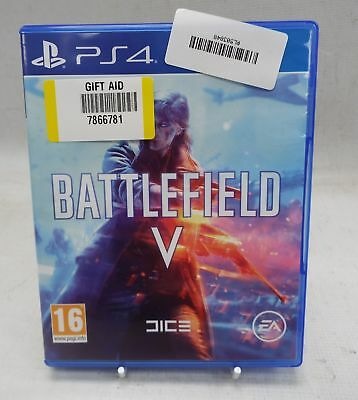 Battlefield V 5 For the Sony Playstation 4 PS4 In A Very Good Condition - K01