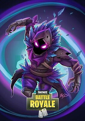 Fortnite Poster Printed on A4 Photographic Paper for Excellent Quality!!
