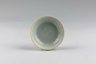 Antique Chinese Song Dynasty Qingbai Yingqing Ware Dish Or Bowl w. Unglazed Rim