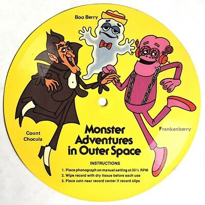 S355. Count Chocula, Boo Berry & Frankenberry MONSTER ADVENTURES IN OUTER SPACE
